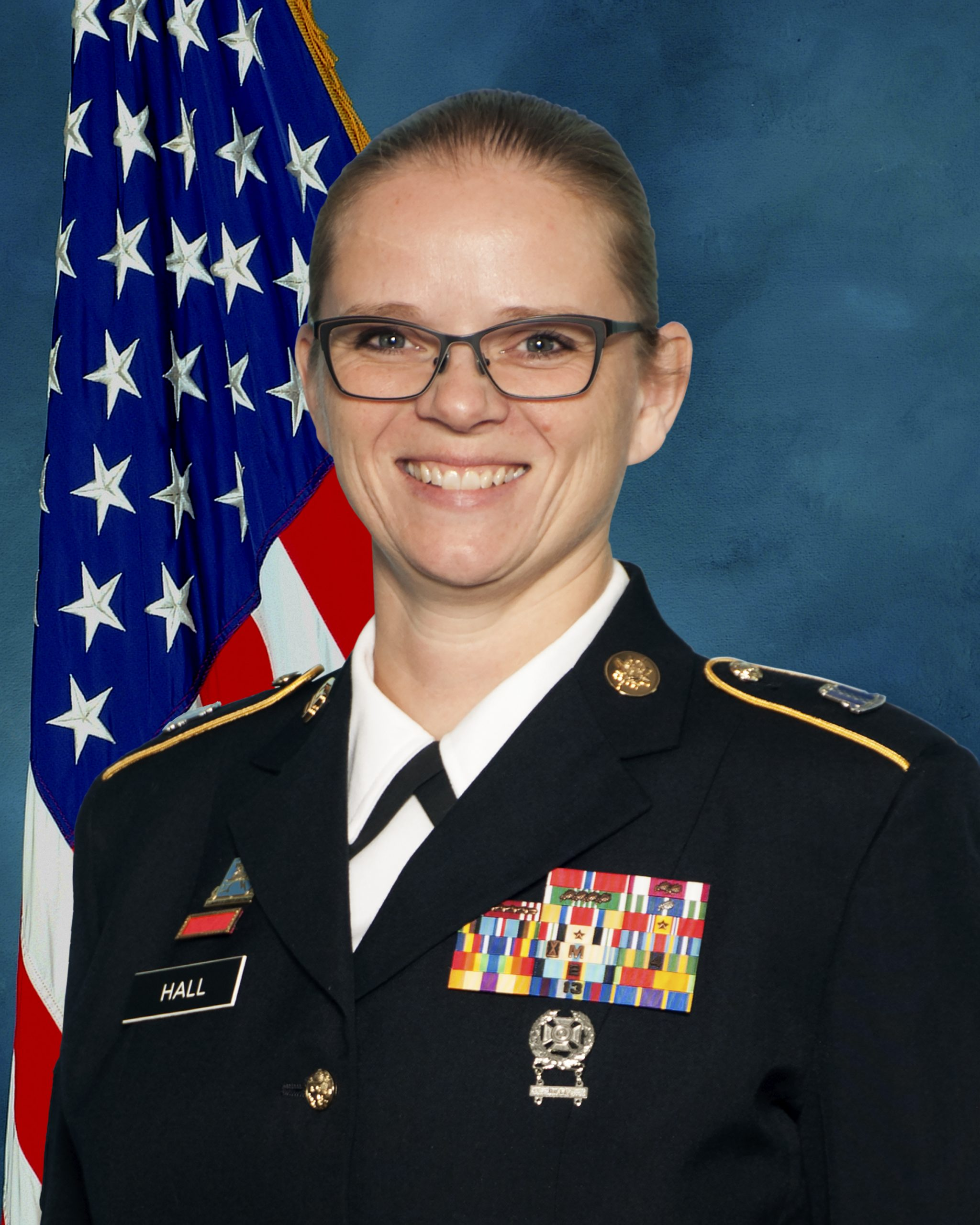 Command Sgt. Maj. Georgett Hall official photo